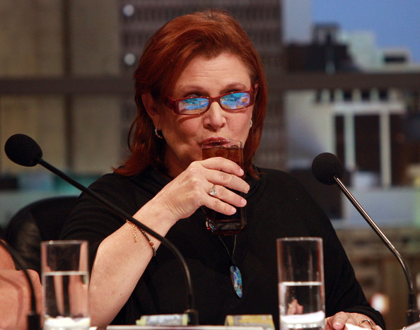 Carrie Fisher On The Panel During The Telethon In Perth []