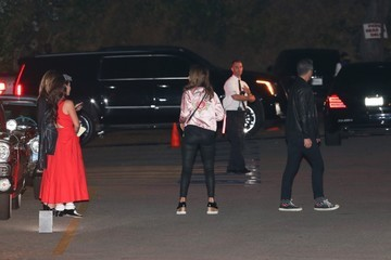 Cash Warren Celebrities Attend Katy Perry's Halloween/Birthday Party in Hollywood