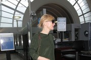 Cate Blanchett Arrives at LAX