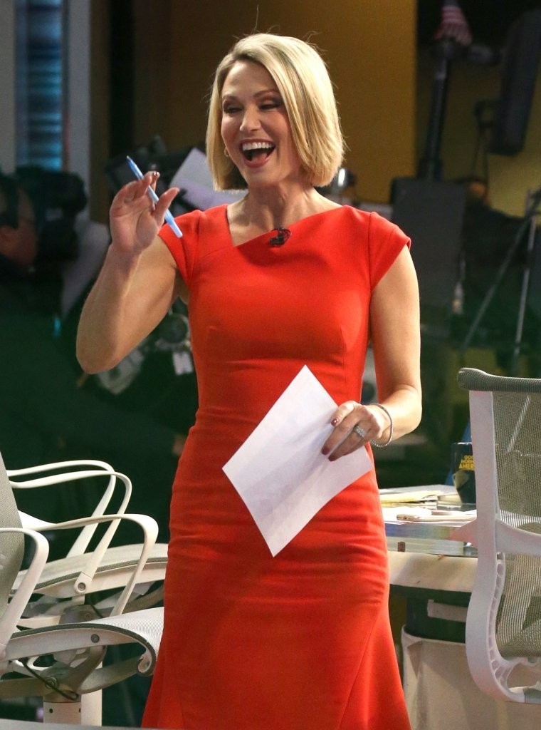 Good Morning America Nyc : Amy robach photos zimbio