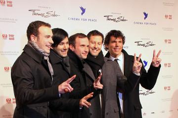 Adoro Celebrities Arriving At The Cinema For Peace Gala