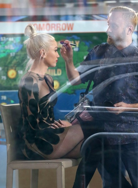 Gwen Stefani Visits the 'The Today Show'