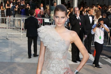 Hana Soukupova Celebrities Attend The 2011 CFDA Awards