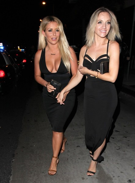 Celebrities Enjoy a Night Out at Bootsy Bellows