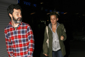 Busy Philipps Marc Silverstein Celebrities Leaving ArcLight Theatre In Hollywood