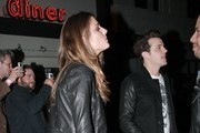 Celebrities on a night out at the El Rey Theatre in Hollywood, California on November 14, 2012.<br /> <br /> Pictured: Jared Followill