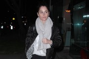 Celebrities spotted out for dinner at Madeo in West Hollywood, California on March 23, 2014.