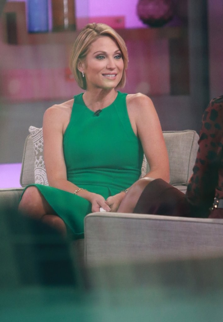 Amy Robach Photos Photos Celebrities Visit Good Morning America