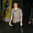 Angus Jones Celebs Arriving For The Lakers Vs. Rockets Game