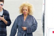 Celebrities at 'Dancing With The Stars' studios for tonight's taping in Hollywood, California on March 28, 2016.<br /> <br /> Pictured: Kim Fields