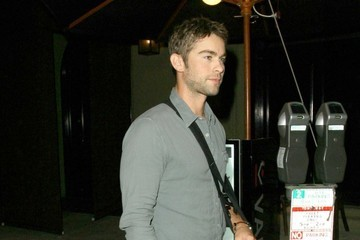 Chace Crawford Celebs Dine Out At Craigs