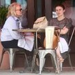 Chloe Malle Candice Bergen and Daughter Out For Lunch in NYC