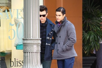 Chris Colfer 'Glee' Films in LA