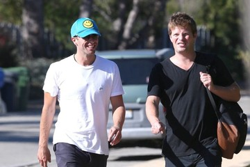 Chris Martin Chris Martin Spotted with a Friend
