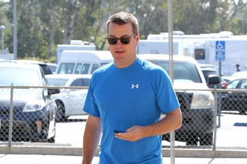 Chris O'Donnell Chris O'Donnell Heads to the Gym