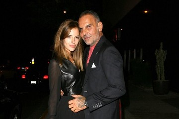 Christian Audigier Celebs On A Night Out At Bootsy Bellows