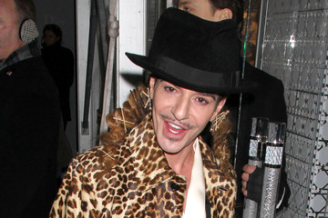 John Galliano Christian Dior's 57th Street Boutique Re-Opening