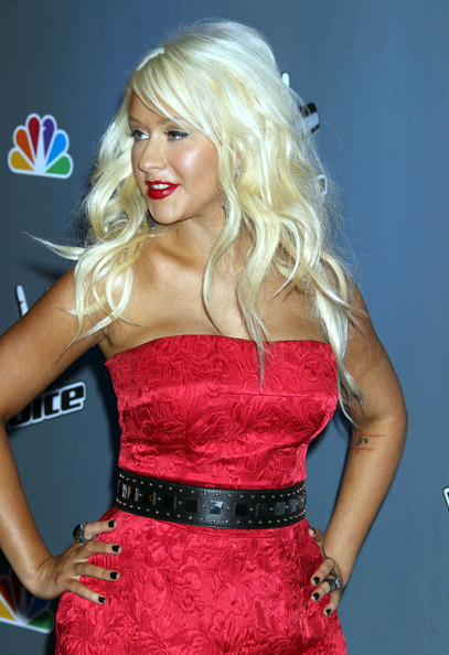 the voice christina aguilera 6 7 11. wallpaper Christina Aguilera