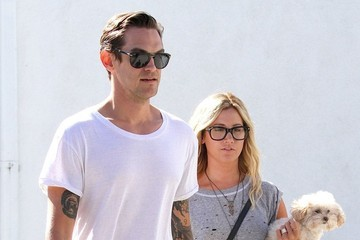 Christopher French Newly Weds Ashley Tisdale & Christopher French Spend The Day Shopping