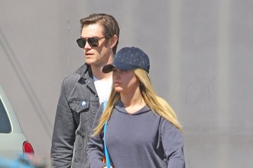 Christopher French Ashley Tisdale and Christopher French Go Shopping