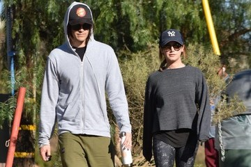 Christopher French Ashley Tisdale And Christopher French Hike In LA