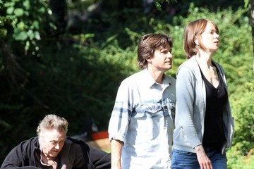 Christopher Walken Scenes from 'The Family Fang' Set