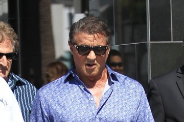 Chuck Zito Sylvester Stallone and Chuck Zito Go Shopping in Beverly Hills