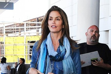 Cindy Crawford Cindy Crawford Touches Down At LAX
