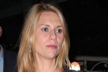 Claire Danes Claire Danes Dines Out at Madeo
