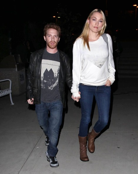 Seth Green & Claire Go To The Lorde Concert