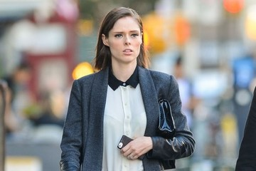 Coco Rocha Pregnant Coco Rocha & James Conran Out And About In NYC