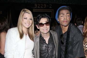 Corey Feldman Celebrities Partying At Bootsy Bellows