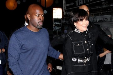 Corey Gamble Models Rehearse for the Tommy Hilfiger Fashion Show in Santa Monica