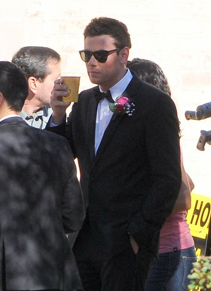"Cory Monteith - ""Glee"" Films in LA"