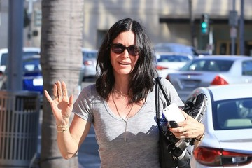 Courteney Cox Courtney Cox Out in Beverly Hills