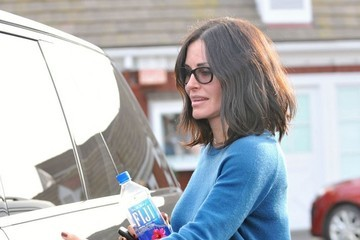 Courteney Cox Courteney Cox Goes Shopping in Brentwood