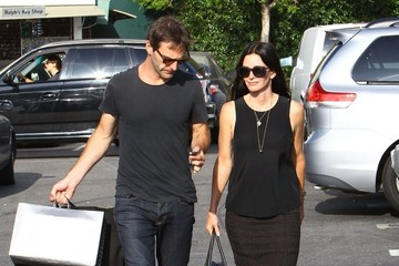 Courteney Cox Courteney Cox and Johnny McDaid Go Shopping