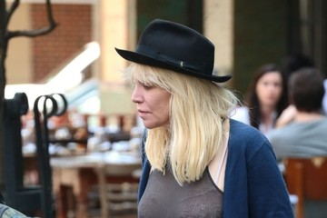 Courtney Love Courtney Love Steps Out in NYC