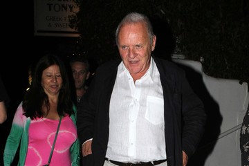 Anthony Hopkins Stella Arroyave Anthony Hopkins And Wife Stella Arroyave Have a Date Night