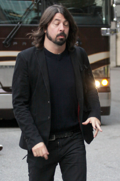 Dave Grohl Arriving At Rogers