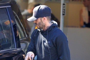 David Beckham David Beckham Leaves Soul Cycle