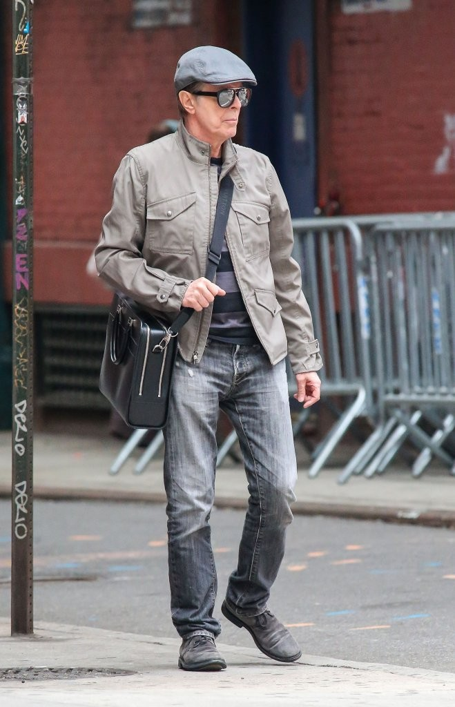 David Bowie Photos Photos David Bowie Out For A Stroll