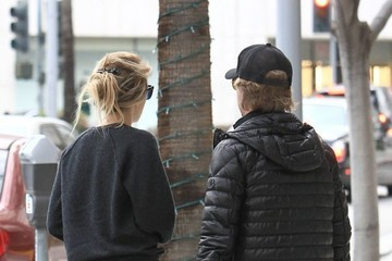 David Spade David Spade And Girlfriend Out And About In Beverly Hills