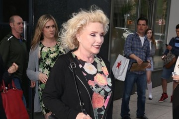 Debbie Harry Celebs Arrive at 'Watch What Happens Live'