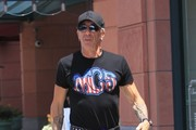 Dee Snider Out Shopping In Beverly Hills