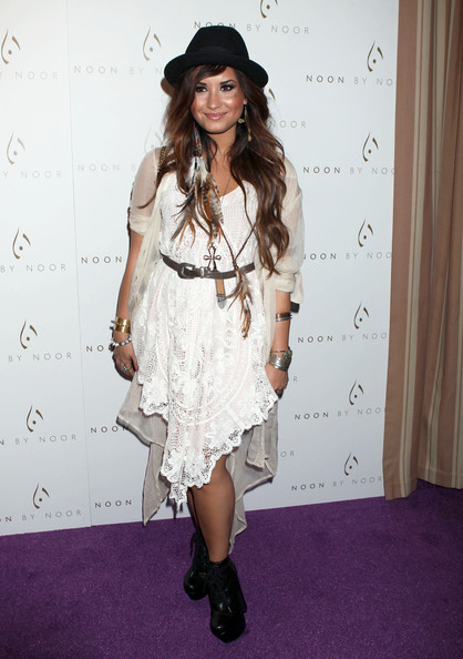 Demi Lovato - Noon By Noor Launch Event - Arrivals