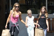 Denise Richards & Daughters Shopping For Party Supplies