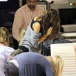 Irv Richards Denise Richards And Family Arriving For A Flight At LAX