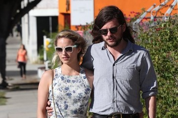 Dianna Agron Dianna Agron & Winston Marshall Out and About in Beverly Hills