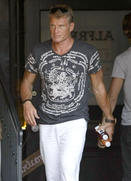 Dolph Lundgren Photos Photos Dolph Lundgren Out For